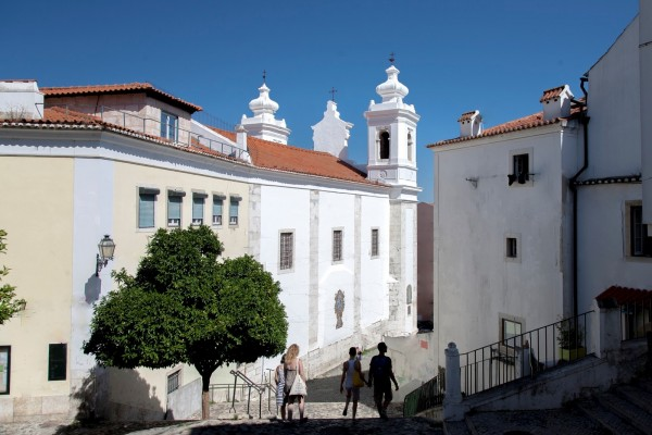 Lisboa, Alfama, S Miguel Church