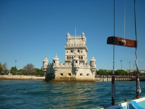 Belem Tower from the river by Essencia da latitude