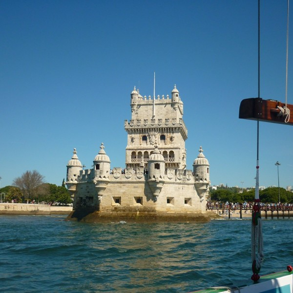 Belem Tower from the river