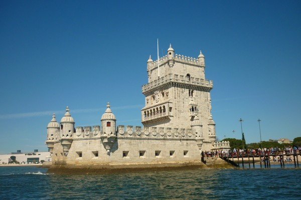 Belem Tower view, from Tagus River