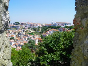 Lisbon-Graça-from-the-castle by Essencia da Latitude