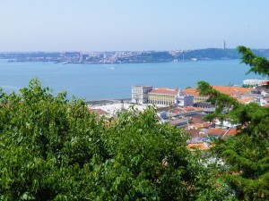 Lisbon View from the Castle‡