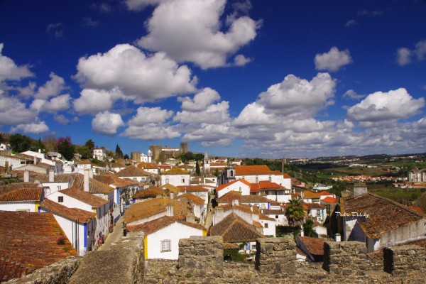 Obidos Village, inside the Castle