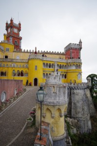 Sintra, Pena Palace, Interior View
