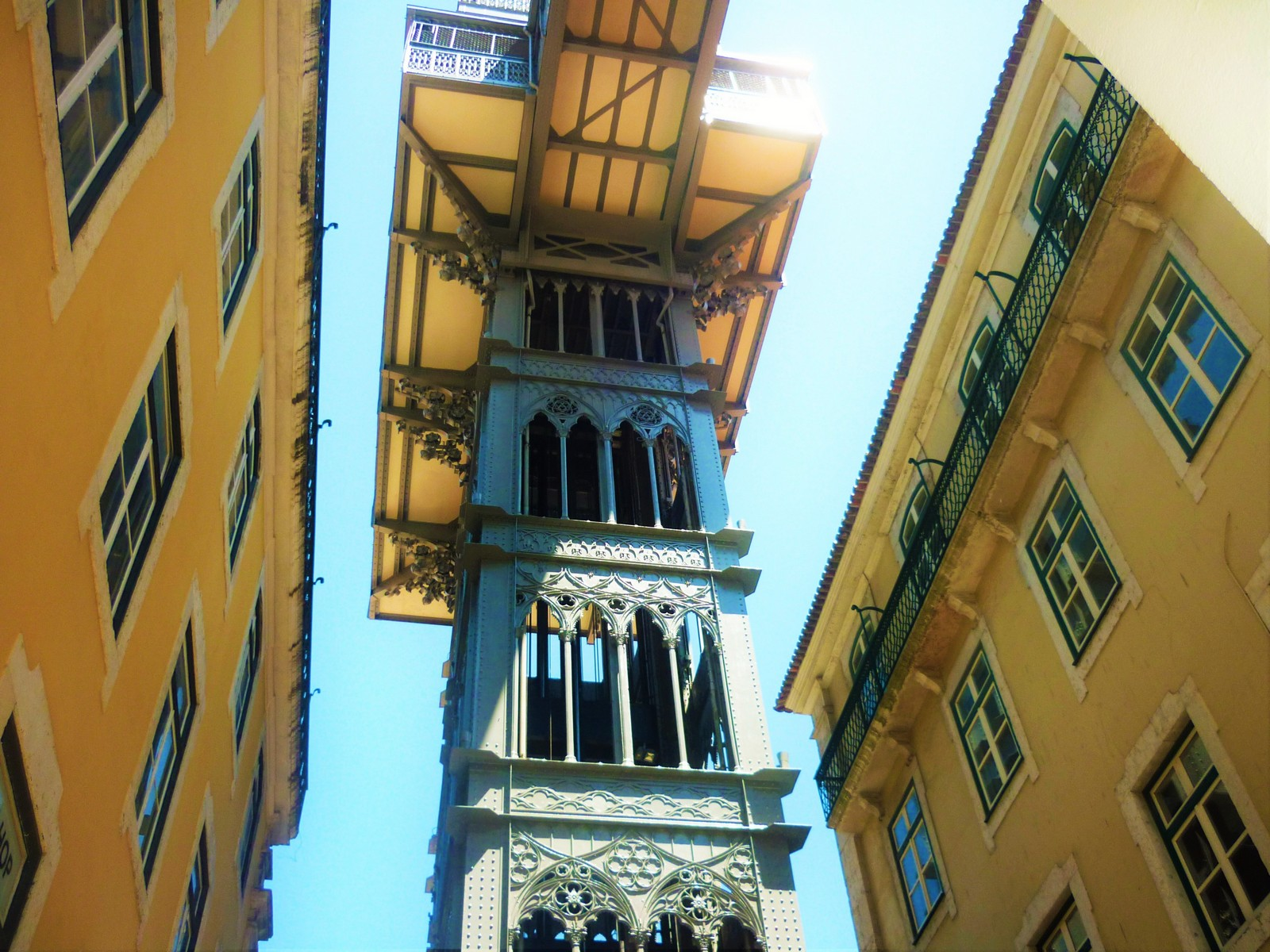 Santa Justa Lift in Lisbon by Essencia da Latitude